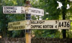 Chipping Norton sign