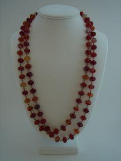 Captivating Carnelian necklace by BenandHenry #Etsy