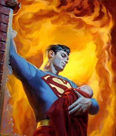 "Superman ""Saving Grace: A Hero's Rescue"" by Kristopher B. Meadows"
