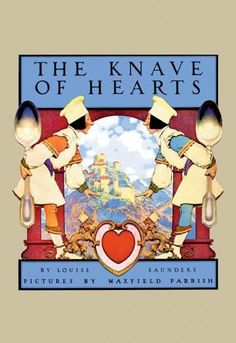 The Knave of Hearts 12x18 Giclee on canvas