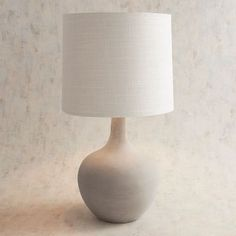 Magnolia Home Ashby Large Cement Table Lamp