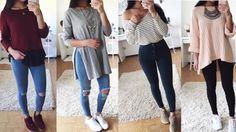 Ropa de Moda Juvenil 2017/Outfits Para Chicas
