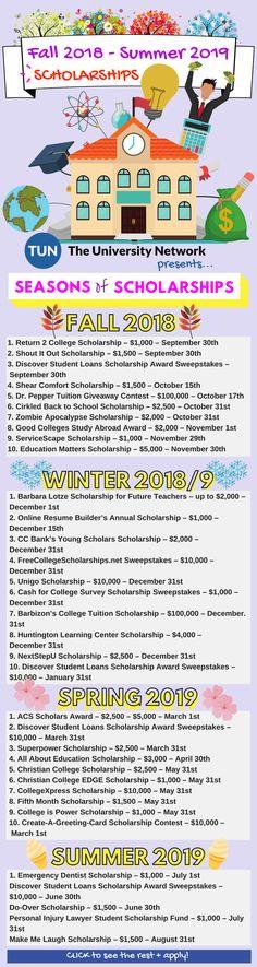 869 Best College Scholarships images in 2019 | College hacks