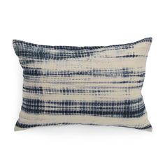 HAND DIP DYED PILLOW<BR>[available online and in stores]