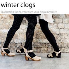 winter clog inspiration