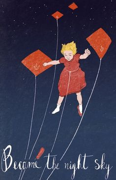 Kite Illustration.  Covers by Ryan LeMere, via Behance