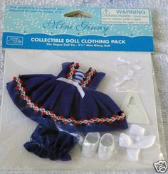 Just listed on Ebay as a Buy-It-Now offering: Vogue 5.25 In. Mini Ginny Doll Sail Away Outfit Only, 2013, New, MIP