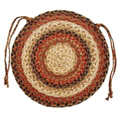 Homespice Decor Russet Chair Pad