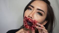 Tutorial Makeup Mulut Monster