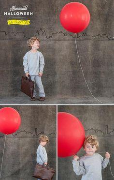 DIY Halloween : DIY The Red Balloon Costume