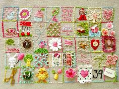 Count your blessings embroidery project - Gorgeous!!!!