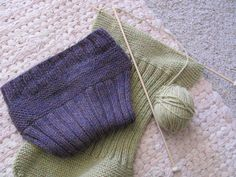 A Life Sustained: Wool Soakers