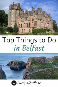 Heading to Belfast and need some tips on what to do and see while in the capital of Northern Ireland? Here are our top tips on what to do in Belfast and the top tourist attractions in Belfast by a local writer from Belfast!  #NorthernIreland #Belfast #traveltips #Ireland #Travel #Irelandtrip #titanic #gameofthrones #GOT #GOTFilmLocations