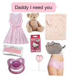 """""""Cutie pie 🌸🌷⭐️"""" by naty1024 ❤ liked on Polyvore featuring Jellycat, Bunnies by the Bay, Hello Kitty, Pusheen and Hanky Panky"""