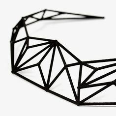 Kette - Schwarz von Unikke Design   MONOQI