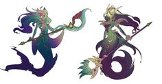 River Spirit Nami Concept from Riot Games by Lonewingy on DeviantArt Lol League Of Legends, Character Concept, Character Art, Concept Art, Character Design, Fantasy Races, Fantasy Art, Avatar, Mermaids And Mermen