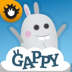 #AppyReview by Sharon Turriff @appymall Gappy's First Words. Fun with Gappy learning first words for children. Helps with learning phonics and letters. Also helps with children going to school to learn to spell short words. Gappy is a cute bunny who you have to help cross the bridge by putting the correct letter in the space. As Gappy hop