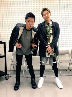 GENERATIONS from EXILE TRIBE 数原龍友 Ryuto Kazuhara & 小森隼 Hayato Komori