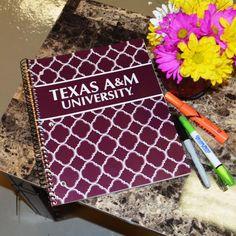 College Depot | 3 subject Texas A&M Notebook 120 Sheets