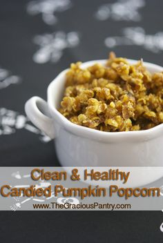 Candied Pumpkin Popcorn