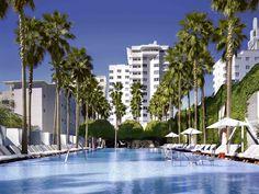 Mini Miami Guide South Beach Miami, Delano South Beach, Delano Miami, Delano Hotel, Pensacola Beach Hotels, South Beach Hotels, Beach Club, Alice In Wonderland Garden, Hotel Pool