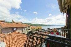 A great view from the apartment studio in Volosko/Opatija (Croatia) Studio App, Pull Out Sofa, Adriatic Sea, Double Beds, Studio Apartment, Great View, Places To Visit, Europe, World