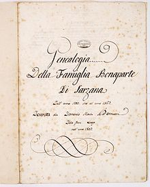 Famille Bonaparte — Wikipédia