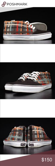 Vans limited edition chukka boot classickicks Vans limited edition classickicks by Liora Manne New York only 200 pair made in 2007. Comes with box any questions ask.  Thanks Vans Shoes Chukka Boots