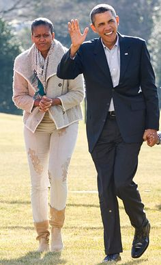See what Michelle Obama is wearing in 2010.
