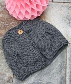 Capita Anna Crochet Baby Poncho, Crochet Wool, Baby Hats Knitting, Knitting For Kids, Knitting Projects, Crochet Projects, Knitted Hats, Knitting Patterns, Crochet Patterns