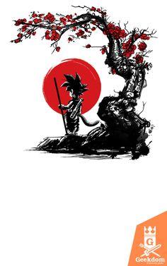 Red+Sun+Princess Mononoke By: ddjvigo Dragon Ball Z, Dragon Ball Image, Japanese Dragon Tattoos, Japanese Tattoo Art, Samourai Tattoo, Samurai Artwork, Japanese Artwork, Art Japonais, Anime Tattoos