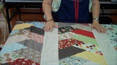 http://missouriquiltco.com -- Jenny Doan shows a quick way to use the half-hex ruler to make a friendship braid quilt. To get the materials featured in this ...