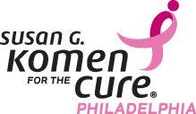 Philadelphia Affiliate of Susan G. Komen for the Cure.  www.komenphiladelphia.org