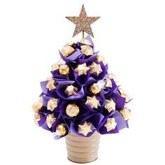 Image result for small purple christmas tree