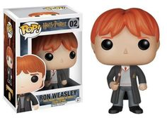 Save the day with Harry Potter's best friend as a stylized vinyl figure! Enjoy the magic of Hogwarts and stand up to He-Who-Must-Not-Be-Named with this Harry Potter Ron Weasley Pop! Vinyl Figure! Mr. Weasley measures approximately 3 3/4-inches tall. Bring a part of Hogwarts home! Check out the other Harry Potter figures from Funko! #funko #collectible #popvinyl #actionfigure #toy #RonWeasley