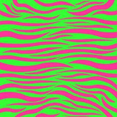 I Love This Cool Zebra Pattern Green Stripes Neon