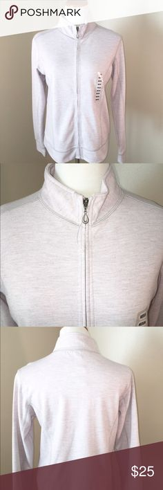 NEW NWT Colorado Clothing Full Zip Sweatshirt NWT Colorado Clothing Full Zip Sweatshirt. Size medium. Beautiful light grey/pink color. Colorado Clothing Sweaters