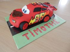 Gateau cars made home selon le blog how to cook that