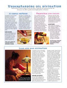 Understanding oil divination