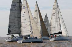 Regata 500 millas del Río de la Plata 2012.
