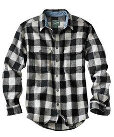 Men's Original Buffalo Check Wool Shirt #Woolrich1830
