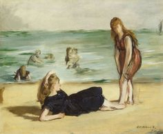 Women on the Beach - Edouard Manet 1832-1883.
