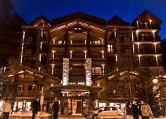 Hotel Le Blizzard, Val D'isère. French Alps (nb: I been there; it's gorgeous)