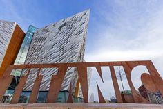 16 day sample travel itinerary to explore the United Kingdom and Ireland-Titanic Belfast is a visitor attraction and a monument to Belfast's maritime heritage on the site of the former Harland & Wolff shipyard in the city's Titanic Quarter where the RMS Titanic was built. It opened in 2012, a hundred years after Titanic sank