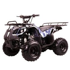 "125cc Four Wheelers 7"" Tires Atvs, Blue ,$750.00"