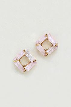 Taylor Earrings in Sugared Aspen CZ