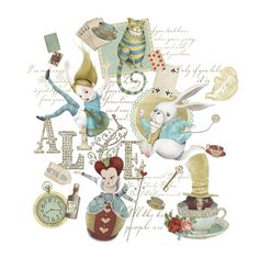 ALICE IN WONDERLAND BY NICOLETTA PAGANO