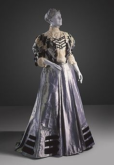 A. H. Metzner (United States, New York)   Afternoon Dress, 1904-1905
