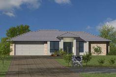 GJ Gardner Home Designs: Daintree 284 Facade 2. Visit www.localbuilders.com.au/builders_queensland.htm to find your ideal home design in Queensland