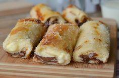 Rotolini di cheesecake ricetta dolce facile velocissima e golosissima , basta davvero poco per questi dolcetti golosi ottimi a colazione e merenda